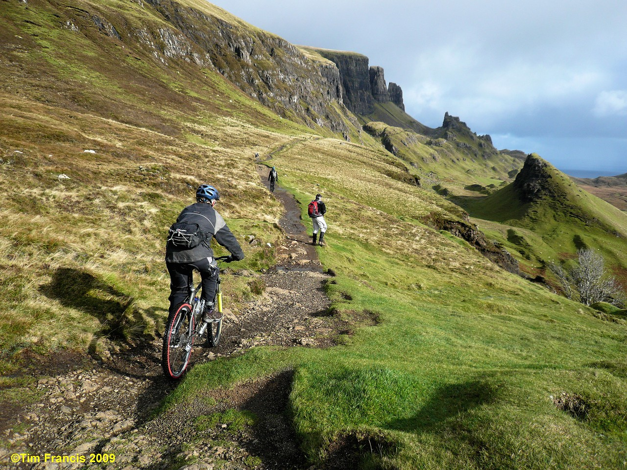 Biking on Skye by Tim Francis Wilderness Scotland
