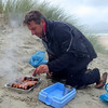 An evening trip to the beach followed. Nick cooks up some of Ireland's finest.
