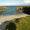 And this was the 2nd sea swim of the week!, Port Stoth, Butt of Lewis.