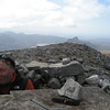 Looking over to Stac Pollaidh from top of Cul Mor