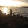 Fishing on Loch Sionascaig