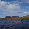 Solo skills practice on Loch Sionascaig