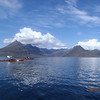 Leaving Elgol for Loch Coruisk, Scottish paddling at its best.
