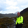 At the start of the superb Glen Sligachan. 12km of rock-strewn technical riding awaits.