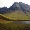 Alongside Loch an Athain with Bla Bheinn dominating the scene.