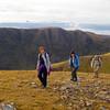 Climbing up from The Bealach na Ba