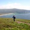Orkney - Walking above Rackwick Bay 004