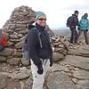 Lisa at Cairngorm summit