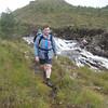 Bruno  at Loch Bad an Sgalaig