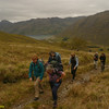 The start of the ascent to Mam Barrisdale from Loch Hourn