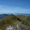 Views of Eigg, Run and Canna from Sgurr Coire Choinnichean, Knoydart.