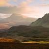 Bioda Bhuidhe, Trotternish Ridge, The Quiraing, Isle of Skye, Scotland